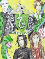 Slytherin B-day card by Tora20
