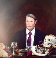 Hannibal and still life by SheenaBeresford