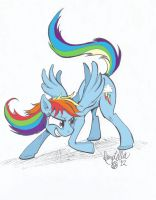 Rainbow Dash by Quirky-Middle-Child