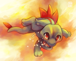 the sleepless totodile by Middroo