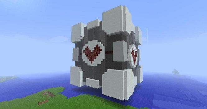 Minecraft - This was a triumph by draconis393