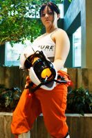 Chell by nwcosplay