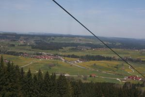 view from Alpspitzbahn 7 by ingeline-art