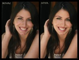 Photo Retouch - Natalie by new-moon-night