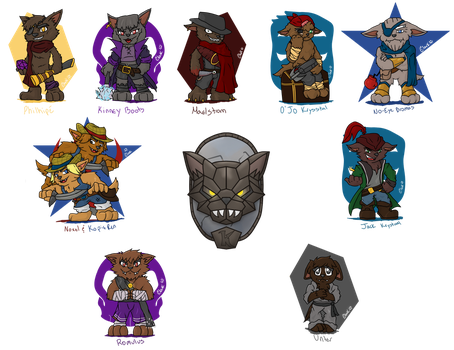 Super Deformed: Kobolds by IronClark