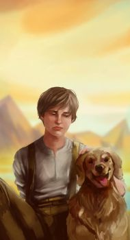 CW : Todd and Manchee by yakichou