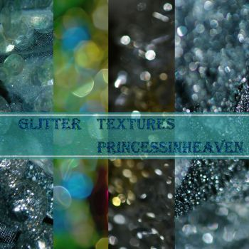 Glitter Textures Pack by PrincessInHeaven