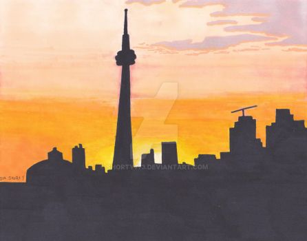 Toronto Sunset by sHoRtY773