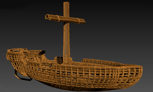 Fishing Boat WIP 2 by SilverCleric
