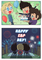 Happy Cap Day! by ecokitty