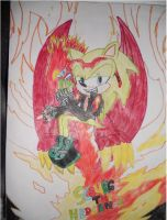 scourge red dragon by 4sonicfan