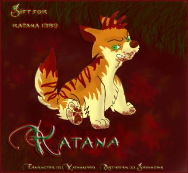 + Gift for Katana1358 + by Grenadine31