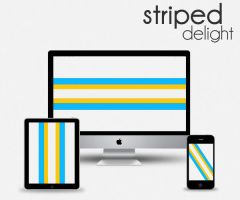 Striped Delight by RobotBoyMedia