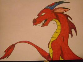 Mushu by DragonFireArt