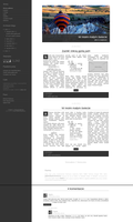 Blogspot template Balon by stupid-owl