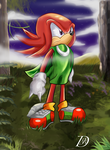 Knuckles: Last of the Guardians by kintobor