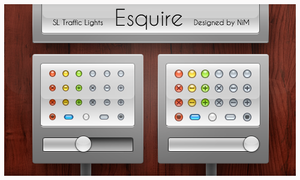 Esquire Traffic Lights by NiMPLiCiTy