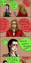 Close, but no banana! [thorki-comic continuation] by nightmarez0mbie