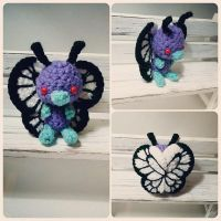Butterfree Amigurumi by AnyaZoe