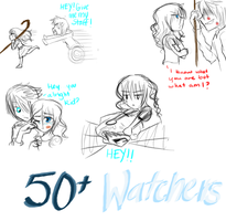 Thank you for 5o+ Watchers by animecake55