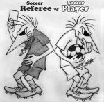 Spy vs Spy-Soccer Referee vs Soccer Player by MAKATAKO
