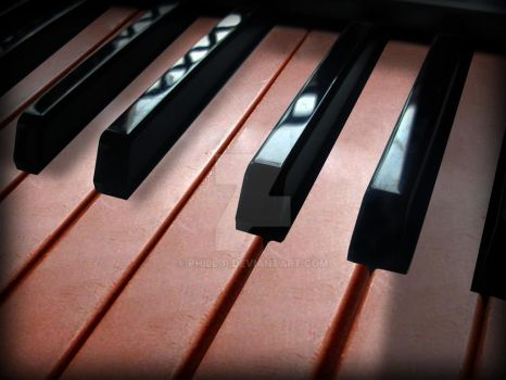 Chocolate Piano by phill-p