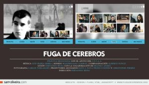 fuga de cerebros - web site by samoliveira