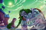 Demise of Zarbon the Elegant by Blue-Uncia