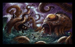 Attack of the Kraken by VegasMike