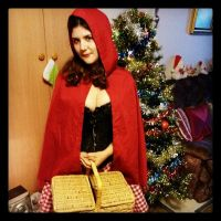 Red riding hood costume by sharvani