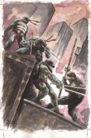 TMNT #1 Recreation by SpaciousInterior