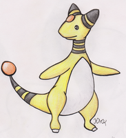 Ampharos (REQUEST) by Shabou