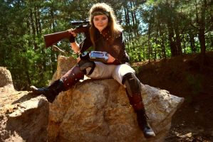 Fallout Cosplay 5: The Courier by AmbitiousArtisan
