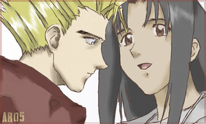 vash and rem by pleaseambulance
