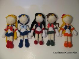 Sailor Moon Inspired Scouts by CrochetedCuriosities