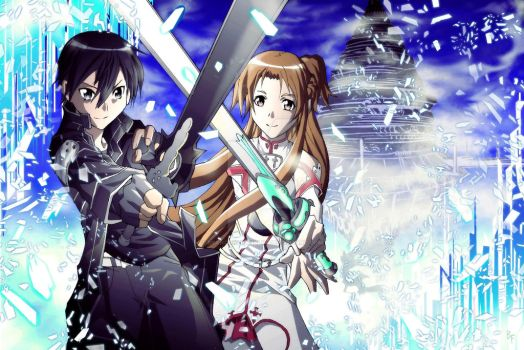 Sword Art Online: Kirito and Asuna by BrandonFranklin