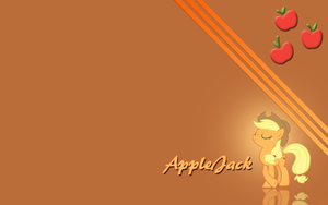 Applejack wallpaper by Fennrick