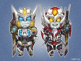 Superdeformers: Drift and Wing by MZ15