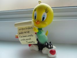 Tweety bird by vfrrich