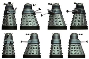 NDP - The Basic Dalek Model by Librarian-bot