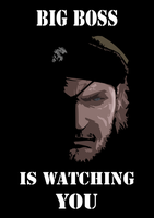 Big Boss is Watching You by Greenstuff-Alex