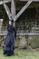 Stock - Victorian Lady mill 2 gothic by S-T-A-R-gazer