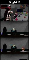 Five Nights With Slendy: Night 5 by MadNimrod