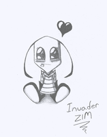 Chibi Zim by InvaderZinc