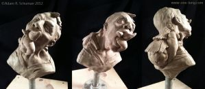 Parasite - Sculpture by AdamSchuman