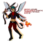 Hathor, of Dianite (REFERENCE) by QuantumNightmare