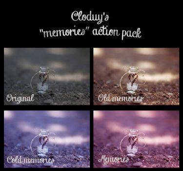 ''Memories'' action pack [[FREE]] by cloduy