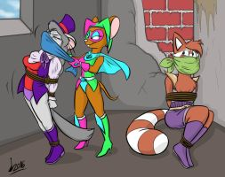 Commision: Missy's Heist by Levvvar