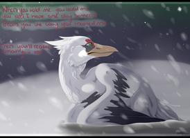 : You'll realize what you lost : by BlueGriffyon