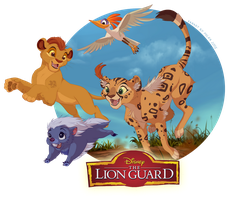 Enter The Lion Guard! by littlepolka